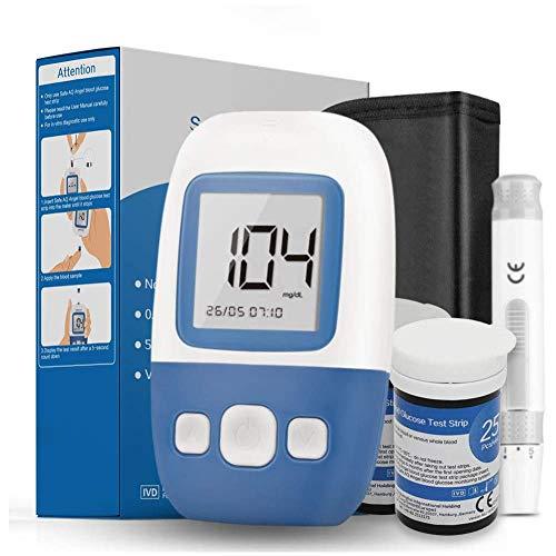 FJLOVE Blutzuckermessgerät Diabetes-Testkit mit High-End-Chip, 5s Testzeit, 200 Speicherkapazität, für Diabetiker-mmol/L
