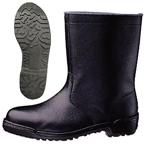 [ミドリ安全] 安全靴 JIS規格 半長靴 MZ040J ブラック 24.5 cm 3E