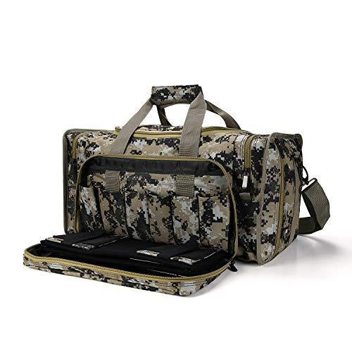 SoarOwl Tactical Gun Range Bag Shooting Duffle Bags for...