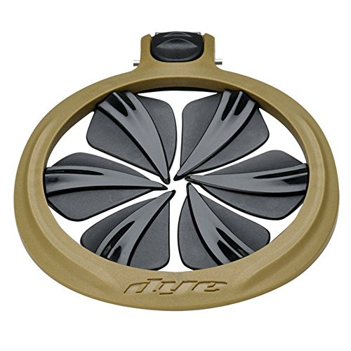 Dye R2 Quick Feed Rotor Black, Schwarz Gold, one Size