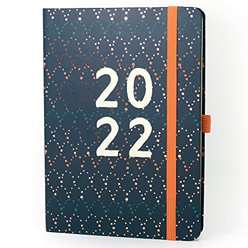 Boxclever Press Perfect Year 2022 Diary A5 Week To View. Diary 2022 runs Jan – Dec'22. Stunning Weekly Planner in Full Colour. A5 Diary Planner with Shopping Lists & More (2022)