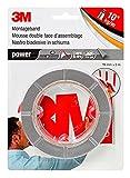 3M Cinta de Doble Cara, fuerte powerbond ultrastrong, rápido y fácil de usar, proporciona una...