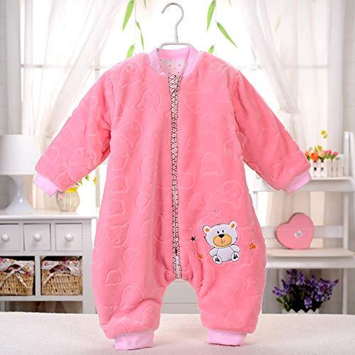 Saco de dormir para bebé con piernas divididas pijama para niños pequeños...