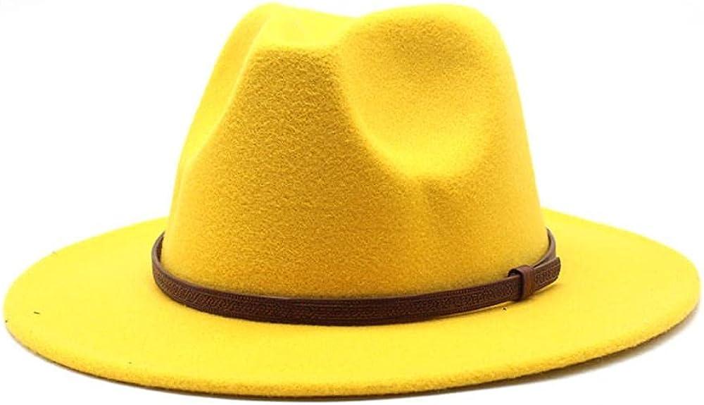 Women's and Men's Fedora Hat Classic Wo Lowest price challenge Wide Panama Elegant Brim Gorgeous