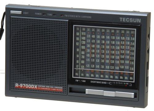 Tecsun R9700DX 12-Band Dual Conversion AM FM Shortwave Radio