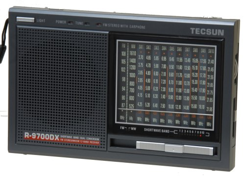 Tecsun r9700dx 12-Band doble conversión AM/FM Radio de onda corta