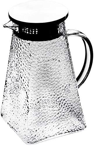 Bouilloire Cuisine Blanche fraîche Théière Maison Théière à théière Chaleur Chaleur Chaleur Théière en Verre pour Maison à Domicile Outdoor 10.5x20x8cm XMJ