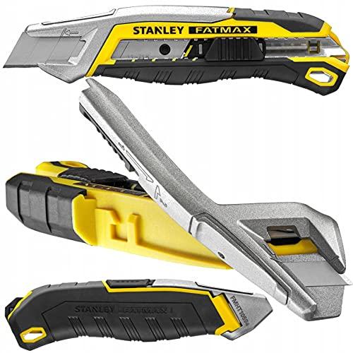 FATMAX QUICK-SNAP STANLEY FMHT10594-0 - Cúter de 18 mm con botón pulsador + cuchilla