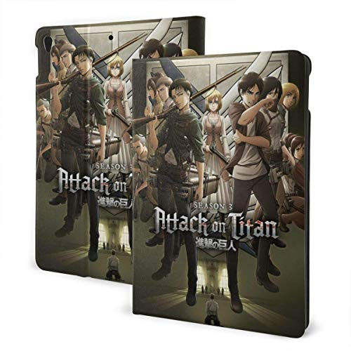 Case For iPad iPad Case Ipad cover Japanese Anime Titan Scout Regiment Smart Stand Back Cover Anti-Scratch Auto Wake/Sleep Protective Case