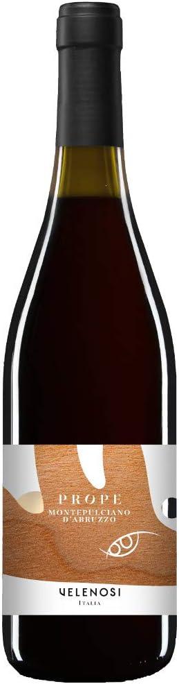 VELENOSI vinos Abruzzo marca PROPE Montepulciano d'Abruzzo DOC Vino tinto italiano (1 botella 75 cl.)