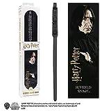 The Noble Collection Varita de PVC Severus Snape de 30 cm con Marcador...