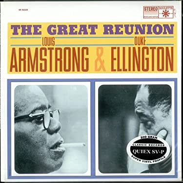 Duke Ellington and Louis Armstrong - The Great Reunion - Classic Records - SR-52103
