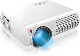 """$99 » 1080P Projector,7200lux Outdoor Projector with 400""""Display,Support 4K Dolby and Zoom,100000h lamp,Official Business & Home..."""