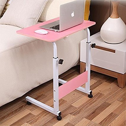 Indoor and Outdoor Study computer Desk Bedroom modern Style Table Pink small Table
