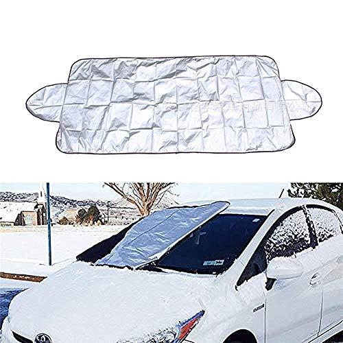 HuaXX Auto Sonnenschutz Frontscheibe Innen Sonnenschutz Auto Windschutzscheibe Car Screen Sonnenschutz Auto-Verdunkelungsvorhänge