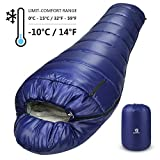 Bessport Mummy Sleeping Bag 3-4 Season Backpacking...