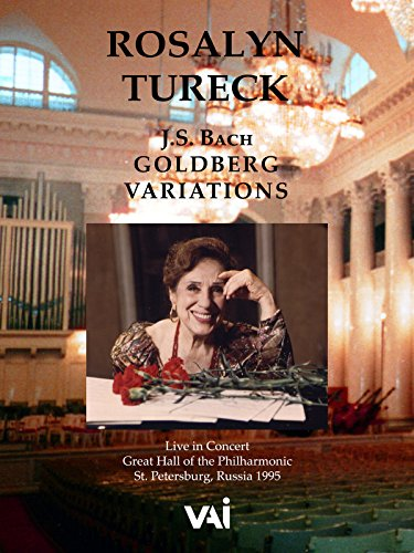 Rosalyn Tureck, J.S. Bach, Goldberg Variations [OV]