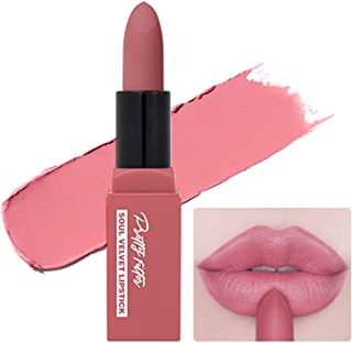 TOUCH IN SOL Pretty Filter Soul Velvet Lipstick 3.5g - Long Lasting Hydrating Formula Semi Matte Lipstick, Daily Natural Lip Color with Romantic Look (#2 Melrose Pink)