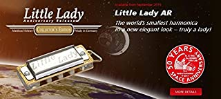 Hohner M91560 Little Lady Harmonica with Space Pouch Packaging