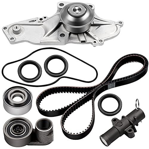 ECCPP Timing Belt Water Pump Kit Fit for 2003 2004 2005 2006 2007 2008 2009 2010 2011 2012 2013 2014 2015 Acura MDX /2005 2006 2007 Honda Accord 3.0L 3.2L 3.5L 3.7L V6 GAS SOHC