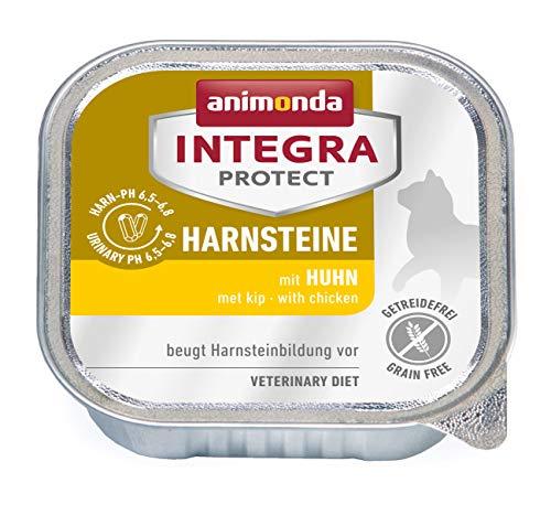 animonda Integra Protect Harnsteine, Spezial-Katzenfutter, Nassfutter zur Vorbeugung eines Harnweginfekts, mit Huhn , 16 x 100 g