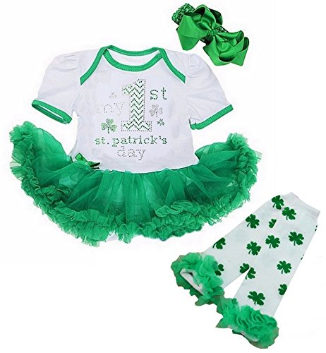 Cute Onesie First Saint Patrick/'s Day Outfit Patrick/'s Day Onesie St Baby Girl Onesie Cute Baby Clothes Irish Princess Princess Baby