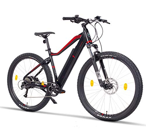 Fitifito MT29 Elektrofahrrad Mountainbike E-Bike 48V 250W Rear Cassette Motor, hydraulische Scheibenbremse, 48v 10,56Ah 504Wh Samsung Lithium-Ionen