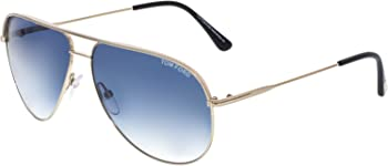 Tom Ford Erin Rose Gold Aviator Flash Sunglasses