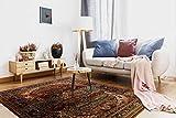 Teppich Wolle KESHAN Ornament orientalisch 7518/53528 beige/dunkelblau 250x350 cm beige - 4