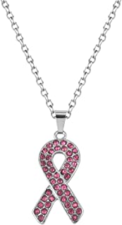 Best breast cancer charm necklace Reviews