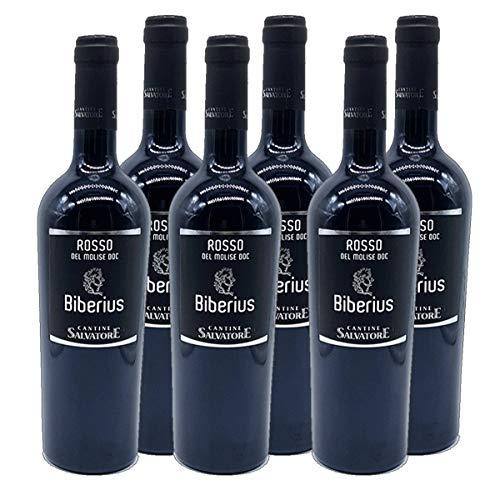 Biberius Molise rosso DOC 2015 Rotwein Italien trocken (6x 0.75 l)