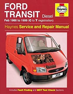 Ford Transit Diesel (Feb 86 - 99) C To T (Service & repair