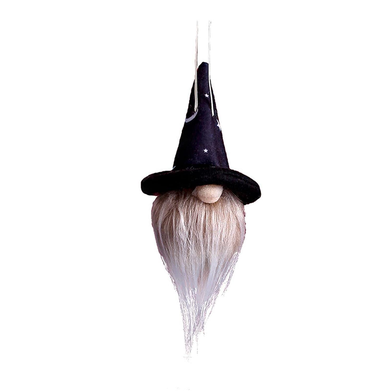 Halloween Dwarf Doll Ornament Luminous Hallow Faceless Cash special price Cute 5 ☆ very popular