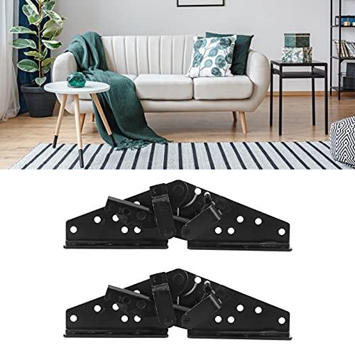 KUIDAMOS Pieza de sofá Plegable, herrajes de Material de Hierro, 2 Piezas, bisagra de sofá para sofás Cama, Camas Plegables, mesas, sillas
