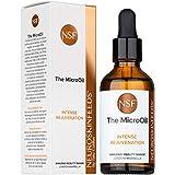 NeuroskinFeeds Serum de rejuvenecimiento facial con vitamina E y camelina oil | Aceite hidratante en gotas para la cara y cuello hombre y mujer | Cuidado facial antiedad y antioxidante