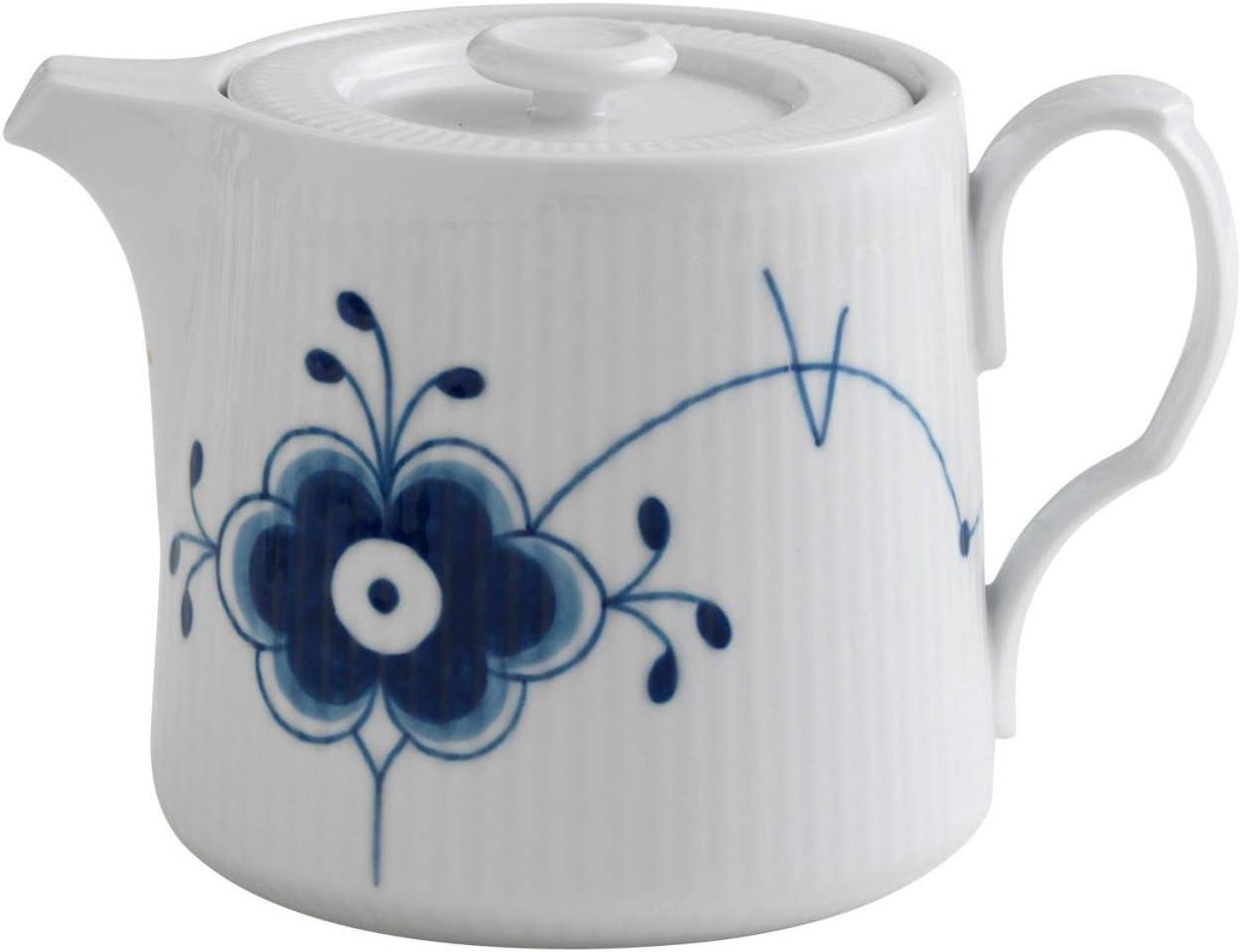 Nashville-Davidson Mall Royal Sacramento Mall Copenhagen Blue Teapot Mega Fluted