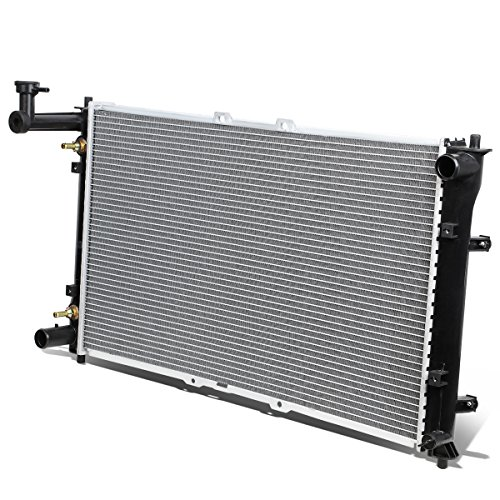 Compatible with Sedona 3.5L V6 AT OE Style All Aluminum Core 2442 Replacement Cooling Radiator