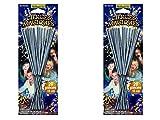 Lot de 40 Cierges magiques sous blisters - longueur 17 cm - longueur utile 8 cm -...