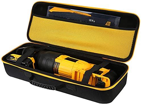 Khanka Hard Tool Case replacement for DEWALT DCS380B/DCS380P1 Cordless Reciprocating Saw