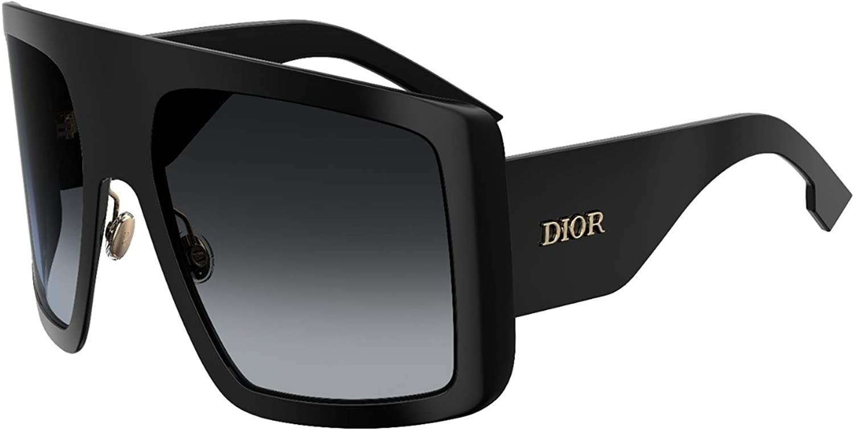 Dior DIOR SO LIGHT 1 BLACK/GREY SHADED 60/22/130 women Sunglasse