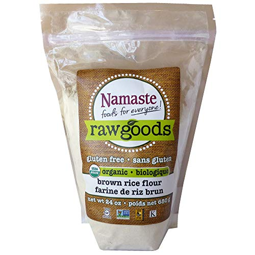 Namaste Foods Organic Brown Rice Flour Gluten Free, 24 oz (Pack of 6)