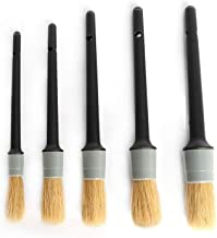 Auto Care Natural Boar Hair Detail Brush (Set of...
