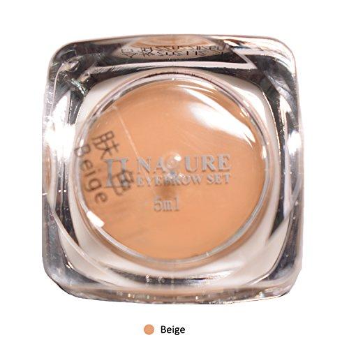 Myle - Kit d'encre pour sourcils 100% naturel, crème permanente PCD pigmentée pour un tatouage des sourcils style micro blading, 5 ml/bouteille