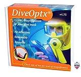 Dive Optx Stick on Reading Lenses +1.75