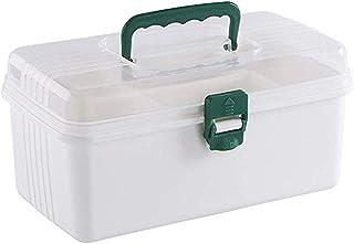 AINIYF Drug Box Storage Box Child First Aid Box Multi-Function Household Multi-Layer Drug Storage
