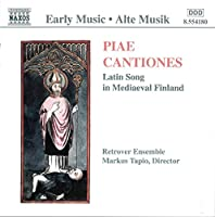 Piae Cantiones-Latin Songs in