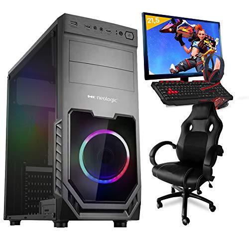 Pc Gamer Completo Smart Pc SMT81291 Intel i5 8GB (GeForce GTX 1650 4GB) 1TB + Cadeira Gamer
