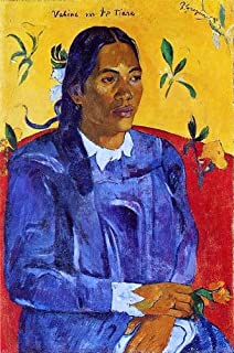 Paul Gauguin Vahine no te Tiare (also known as Woman with a Flower) - 18