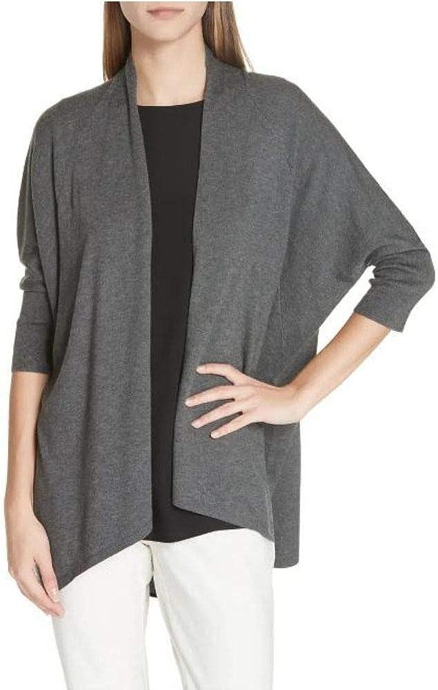 Eileen Fisher Women's Asymmetric Open-Front Cardigan