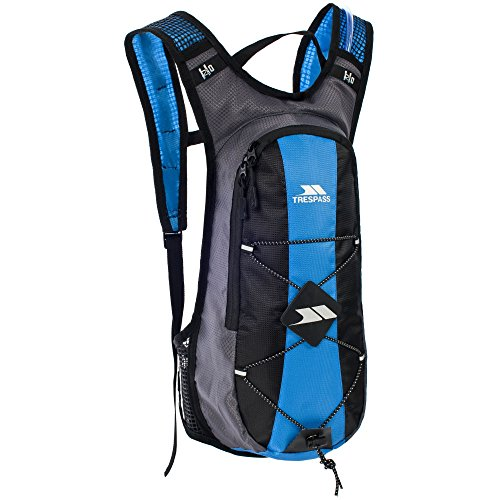 Trespass Mirror Hydration Backpack/Rucksack (15 Litres) With Water Resevoir (2 Litres) (One Size) (Cobalt)